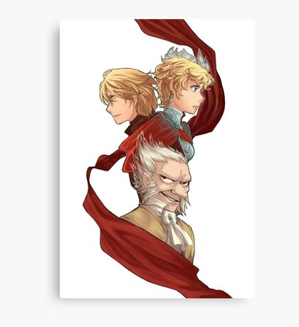 Radiant Historia Canvas Print