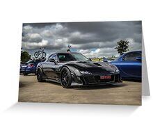 MAZDA FD RX7 Greeting Card