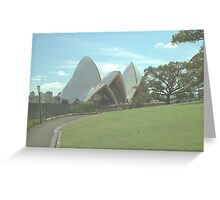 Uncommon View Greeting Card