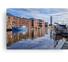 Exeter Quays Canvas Print