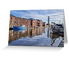 Exeter Quays Greeting Card
