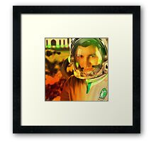 Ahmed Khan, The Pakistani Space Exploring Astronaut Framed Print