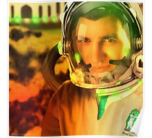 Ahmed Khan, The Pakistani Space Exploring Astronaut Poster