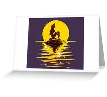 The Minimal Mermaid Greeting Card