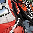 Troy Corser - Yamaha Italia YZF R1 by quigonjim