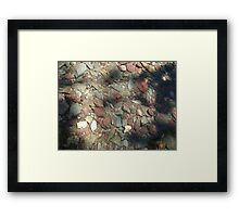 COOL WATER DIMPLE Framed Print