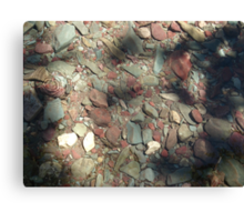 COOL WATER DIMPLE Canvas Print