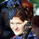 Lady in blue by Daniela Muehlbauer