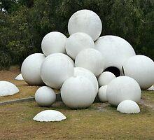 Spherical Sculpture by Maggie Hegarty
