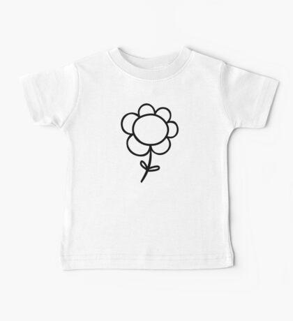 Flower Baby Tee