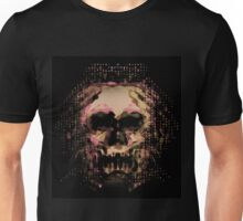 Digital Mirage of Death with Autumn colors.  Unisex T-Shirt