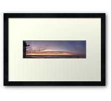 Cottesloe Panarama Framed Print