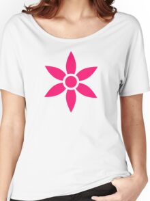 Pink bloom Women's Relaxed Fit T-Shirt
