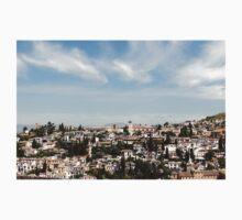 Granada, Spain Cityscape Kids Tee