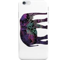 Purple Elephant iPhone Case/Skin