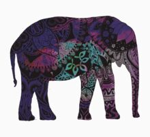 Purple Elephant by MZawesomechic