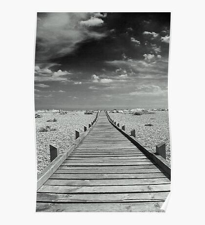 Mono Boardwalk Poster