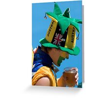 Australian Open Fanatic Greeting Card
