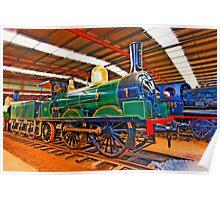 Locomotive  Built in 1877 Poster
