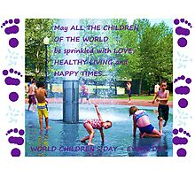World Children's Day - Every Day Photographic Print