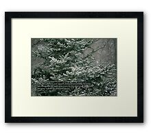 Praise the Lord from the earth Framed Print