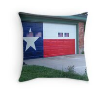 Everything's Bigger In Texas Throw Pillow