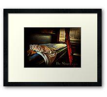 The Sleeper . . .  Framed Print