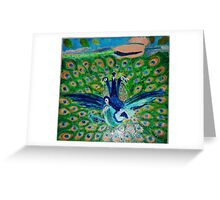 Love Time: The Peacocks Greeting Card