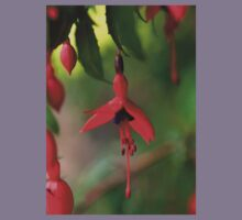 Single Wild Fuchsia Flower, Loch Na Fooey Kids Clothes