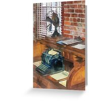 Trains - Station Master's Office Greeting Card