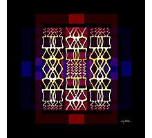 Mysti-glyphs Photographic Print