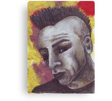 Billy Psycho Canvas Print