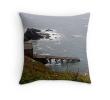 Life Boat House Throw Pillow