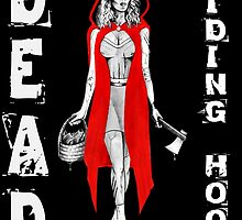 Zombie Fairytales Hood - DEAD RIDING HOOD by mark-chaney