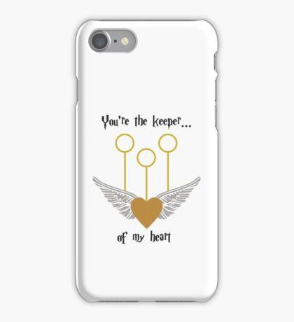 Keeper of my Heart iPhone Case/Skin