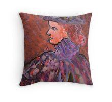 Fanny by gaslight Throw Pillow