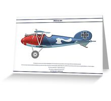Albatros D.V Jasta 18 - 2 Greeting Card