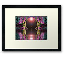 Elliptic Splits Tunnel of Love  (UF0267) Framed Print