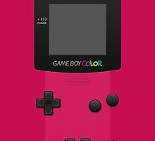 Pink Nintendo Gameboy Color by ~ *