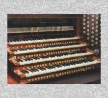Organ Keyboard One Piece - Long Sleeve