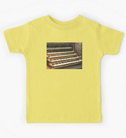 Organ Keyboard Kids Tee