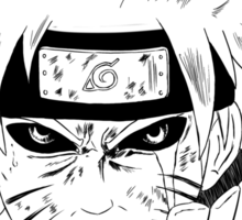 Naruto's Inner Demon  Sticker