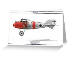 Albatros D.V Jasta 34b 1 Greeting Card