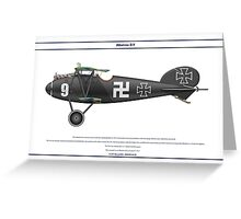 Albatros D.V Jasta 37 1 Greeting Card