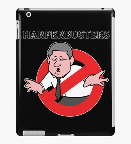 HARPERBUSTERS iPad Case/Skin