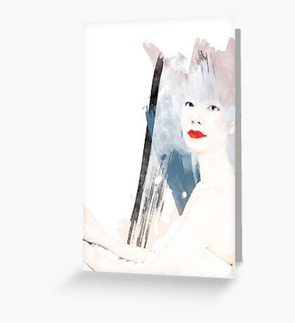 TOKIO WOMAN Greeting Card