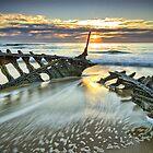 Wreck Sunrise  by Annette Blattman