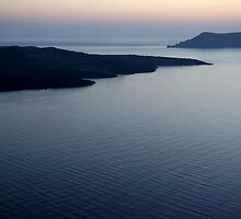 Santorini Blue by Lambros