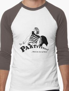 Ready to Party Men's Baseball ¾ T-Shirt