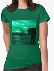 Emerald Dreams Tee Womens Fitted T-Shirt